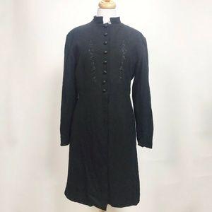 Wahmaker Women's Wool Coat Size 12 Steampunk